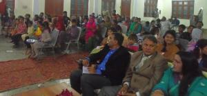 We had parents and children in the audience but also some guests.